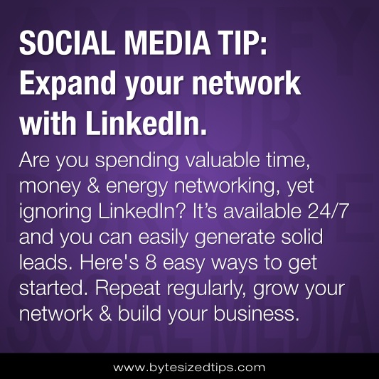 [SOCIAL MEDIA] 8 Easy Ways to Expand Your Network with LinkedIn